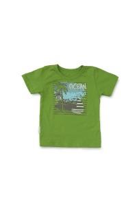 """Футболка детская """"Ocean"""" 10406 кулирка (цвет зеленый)"""