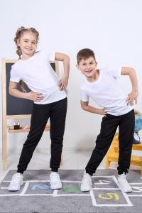 "Футболка детская (унисекс) ""Школа-3"" кулирка (цвет белый)"