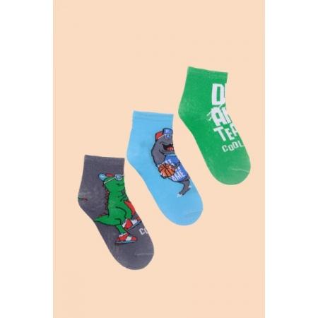 """Носки детские """"Тайм"""" хлопок (цвет в ассортименте, 3 пары)"""