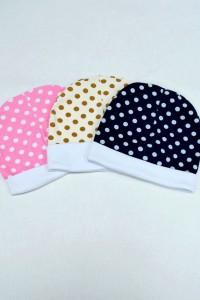 Шапка для девочек, трикотажное полотно с лайкрой (цвет в ассортименте)