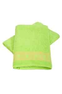 "Полотенце гладкокрашеное ""Жасмин"" махра (цвет зеленый)"